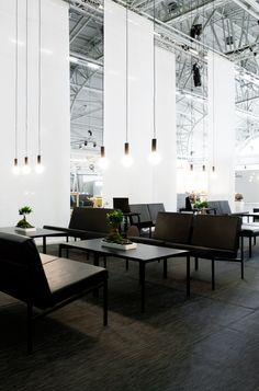 Artek tee room, Design by Anni Pitkäjärvi and Hanna-Kaarina Heikkilä Johnston Marklee, Dover Street Market, Alvar Aalto, Helsinki, Dining Bench, Industrial, Lounge, Contemporary, Studio