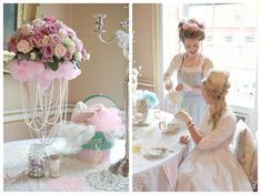 Wedding Blog UK ~ Wedding Ideas ~ Before The Big Day: Marie Antoinette Wedding & Hen Party Inspiration Shoot
