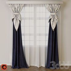 Stunning Modern Curtains Designs To Refresh Your Living Room Cortinas Home Curtains, Curtains Living, Modern Curtains, Swag Curtains, Kitchen Curtains, Curtain Styles, Curtain Designs, Curtain Patterns, Living Room Decor