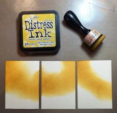 ATC Tutorial - Making Artist Trading Cards with Ranger Distress Inks Distress Ink Techniques, Embossing Techniques, Playing Card Crafts, Playing Cards, Atc Cards, Easel Cards, Art Trading Cards, Artist Card, Project Life Cards