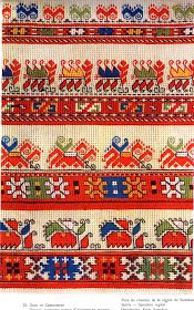 Folk Embroidery Hello all, I am working on an overview of Bulgarian costume and I ran across a large number of embroidery designs from this one distric. Folk Embroidery, Cross Stitch Embroidery, Embroidery Patterns, Cross Stitch Patterns, Floral Embroidery, Needlepoint Designs, Folk Fashion, Antique Quilts, Embroidery Techniques
