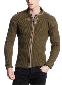 Men's Fashion - G-Star Men's Fault Longsleeve Knit Vest
