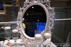 welcome table guestbook decor at Burnaby Banquet Hall Wedding