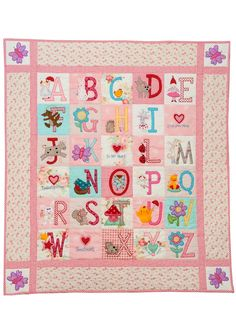 ABC Boys Quilt Pattern by Red Brolly | Quilts, Quilts, Quilts ... : alphabet baby quilt pattern - Adamdwight.com