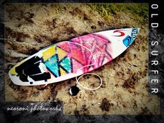 Rip Curl Old Surf Board