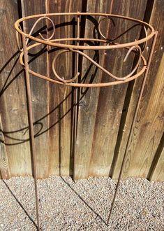 Staudenhalter rund D40 - Metalldesign-Kattner Embellishments, Home And Garden, Circuit, Hang In There, Plants, Nice Asses