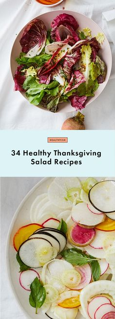 34 Healthy Thanksgiving Salad Recipes That (Almost) Rival the Turkey | Bon Appetit
