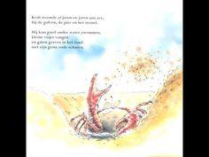 De krab die zo'n vreselijke jeuk op zijn rug had
