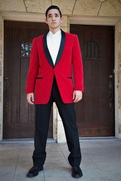 2017 Latest Coat Pant Designs Red Velvet Men Suit Groom Tuxedo Slim Fit 2 Piece Custom Style Suits Prom Blazer Terno Masculino