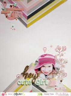 Le scrap d'Aur0re: Page #Hey, cute girl!