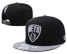 NBA The League Brooklyn Nets Game Snapback Cap Hat -- You can get additional details at the image link.