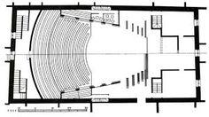 Image result for rectangular auditorium plan