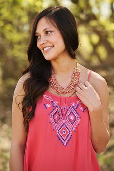 Coral Gems Necklace – Laney Lu's Boutique