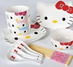 Hello Kitty utensil set