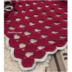 Pattern: Heart shawl