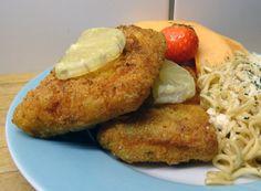Crispy Oven Fried Fish Fillets
