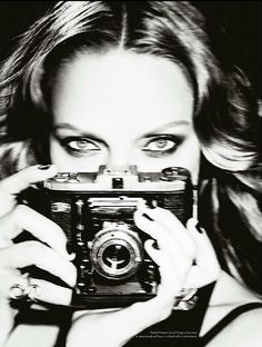 Uma Thurman | by Ellen von Unwerth for Vs Magazine