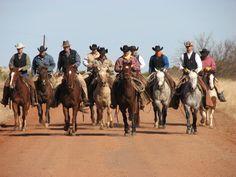 Cowboys - JA Ranch crew, TX