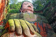 The Leshan Giant Buddha, Sichuan, China