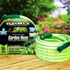 Flexzilla Garden Hose With SwivelGrip Connections   Easily Attach To The  Spigot And Attachments. Drinking