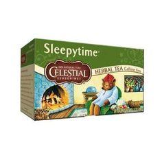 Celestial Seasonings Sleepytime Herbal Tea - Keurig K-Cup Pods - Great Lakes Gelatin, Types Of Tea, K Cups, Product Label, Herbal Tea, Detox Tea, Keurig, Bedtime, Herbalism