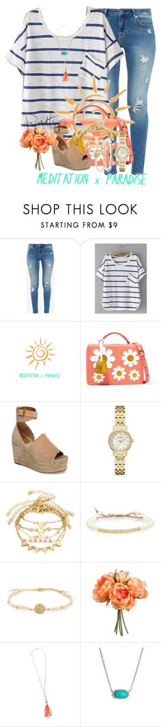 """bLoG"" by livnewell ❤ liked on Polyvore featuring Ted Baker, Mark Cross, Chloé, Kate Spade, Tai and Kendra Scott"