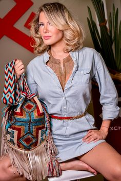 LUXCHILAS Luxury Wayuu Mochila Bags - Miami - Official Site World famous mochila bags embellished with crystals and leather fringes. Handmade in Colombia.