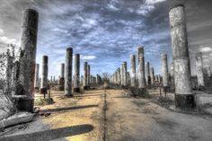 U-More Park abandoned  Gopher Ordnance WW2 munitions factory in Rosemount, Mn by Bill Donovan