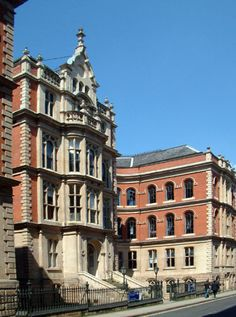 The Adams Building Stoney Street, was designed by Thomas Chambers Hine. copyright Ray Treece