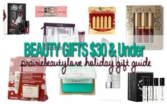 HOLIDAY 2015 Gift Guide: $30 And Under Gifts