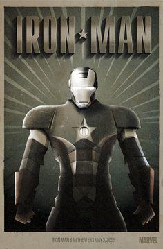 Iron Man 3 by Radio, via Behance