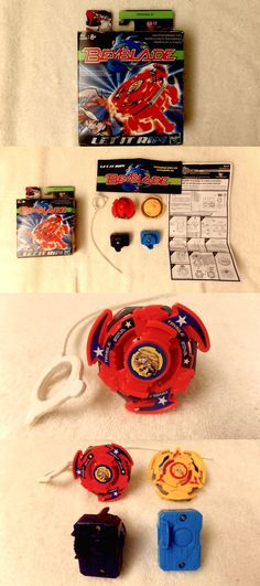 BeyBlade 38323: 2 Rare Vintage Beyblades: Red Trygle A17 New In Box +Yellow Beyblade Also New** -> BUY IT NOW ONLY: $111.12 on eBay!