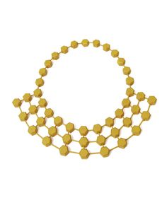 Hexagon Rays Necklace by Jointed Jewels
