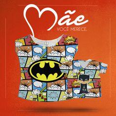 O nosso kit Tal mãe tal Filho Batman está bombando! Clique na imagem e conheça!! #talmãetalfilho #batman #quadrinhos #mãedemenino
