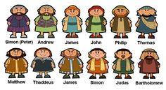 Resultado de imagen para los doce apostoles lamina