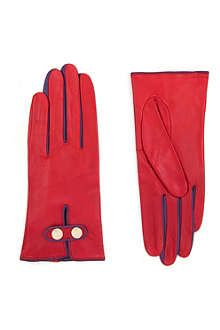 TED BAKER Chupa leather gloves