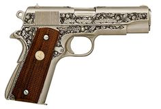 COLT 70 SERIES COMBAT COMMANDER ENGRAVED PISTOL. I have a slight obsession with engraving