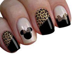 Vernis Minnie léopard !!
