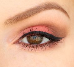 Makeup Oeil Sweet Peach