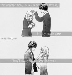 """TIME\""  Anime:Ao haru ride"