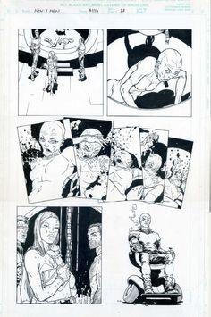 New X-Men 116 p.20 E is for Extinction Comic Art