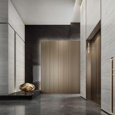 Elevator Lobby Design, Office Building Lobby, Hotel Lobby Design, Interior Design Gallery, Office Interior Design, Lift Design, Hospital Design, Entrance Design, Lounge