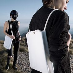 TMR_RSO Leather #Bags #madeinitaly #leather #backpack #handcrafted #handmade #italiandesign #black #white #blackandwhite