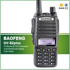BaoFeng UV-82 8W New Version UV82plus Portable Ham Radio Walkie Talkie Dual PTT Amateur Radio Baofeng UV-82plus with Earphone