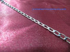 316L Surgical Stainless Steel 3mm Long Link Cuban Anklet