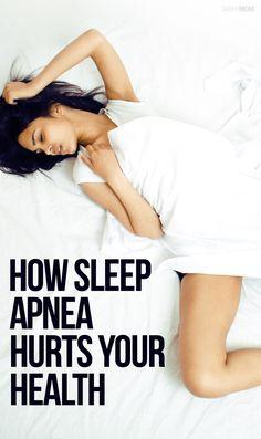 HEALTH: Sleep Apnea and its effects on your body