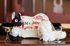 Mr.Jiji & Mrs.Lily from Ghibli