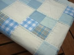 Easy Four Patch Baby Quilt