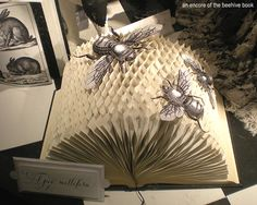 Honeycomb book displayed in the Holiday window display at Bergdorf Goodman's 2011