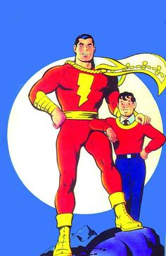 The Original Captain Marvel...